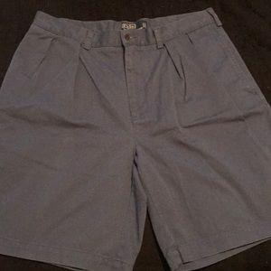Polo navy blue chino shorts 34